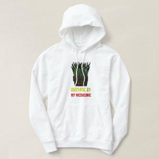 """Moletom A """"natureza é a camisola encapuçado dos meus"""