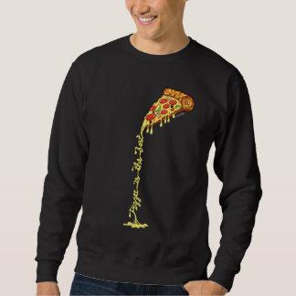 Moletom A pizza é o melhor