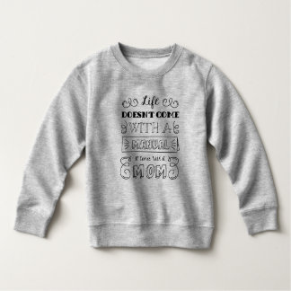 Moletom A vida de inspiração e a mãe citam a camisola de |