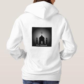 Moletom Abóbada da mesquita e silhueta do minarete
