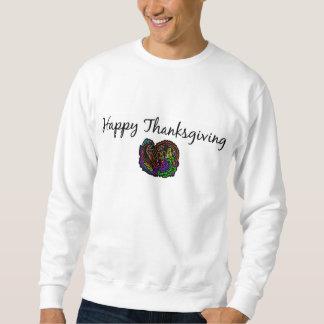 Moletom Acção de graças feliz (Cornucopia do art deco)