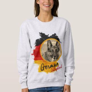 Moletom Adicione seu cão de german shepherd da foto - GSD