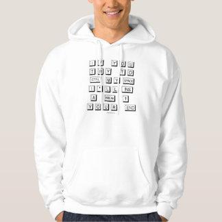Moletom Adulto engraçado do teclado