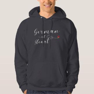 Moletom Alemão no Hoodie do coração, Alemanha