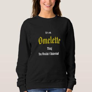 Moletom Algo omeleta podre Sweathirt