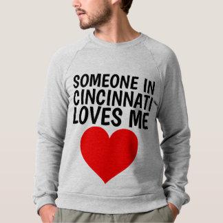 Moletom ALGUÉM em CINCINNATI AMA-ME t-shirt
