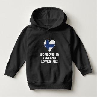 Moletom Alguém em Finlandia ama-me