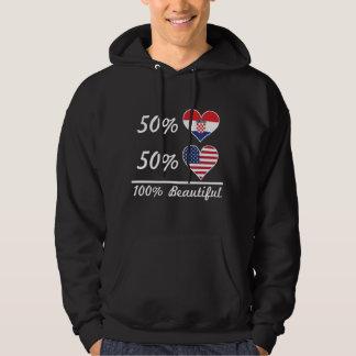 Moletom Americano do croata 50% de 50% 100% bonito