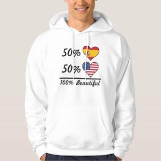 Moletom Americano do espanhol 50% de 50% 100% bonito