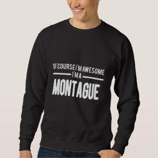 Moletom Amor a ser t-shirt de MONTAGUE