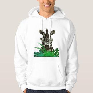 Moletom Animal do estilo da zebra do hipster