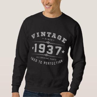 Moletom Aniversário do vintage 1937