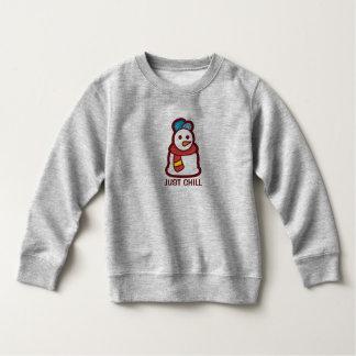 Moletom Apenas camisola fria engraçada do boneco de neve  