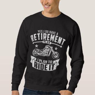Moletom Aposentadoria do motociclista