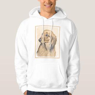Moletom Arte original de pintura do cão do Dachshund 2 (de
