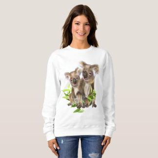 Moletom Arte pequena bonito do animal do urso de Koala