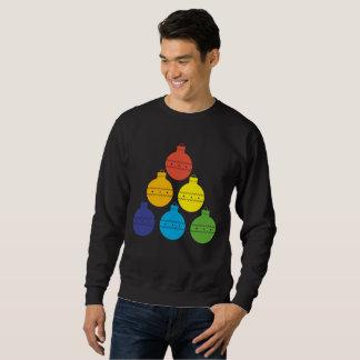Moletom Árvore do arco-íris da camisola do feriado das