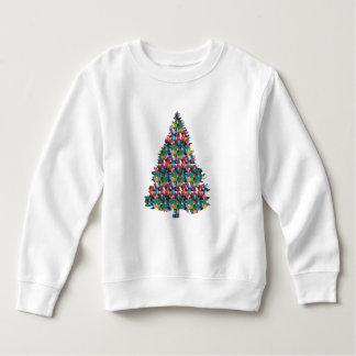 Moletom Árvore enchida GEMA do XMAS:  Feliz Natal