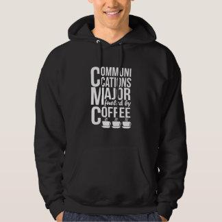 Moletom As comunicações Major abastecido pelo café