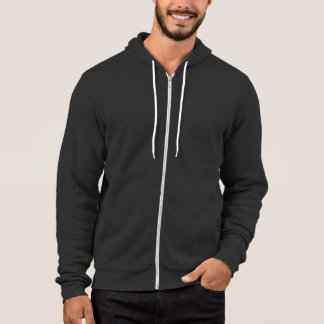Moletom Asfalto: Hoodie do fecho de correr do velo de