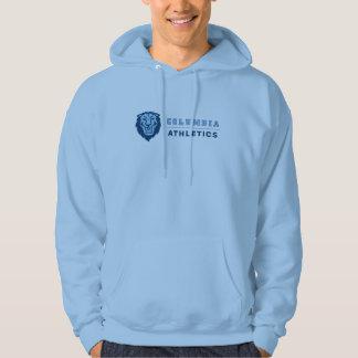 Moletom Atletismo do leão da Universidade de Columbia |
