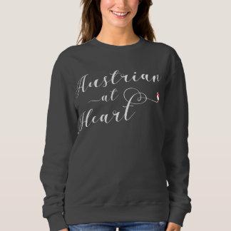 Moletom Austríaco na camisola do coração, Áustria