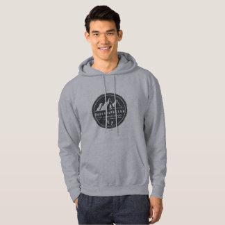 Moletom Aventure-se o clube para hoodie de S dos HOMENS