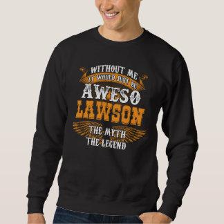 Moletom Aweso LAWSON uma legenda viva verdadeira