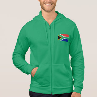 Moletom Bandeira de África do Sul no verde