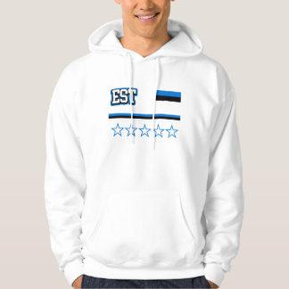 Moletom Bandeira de Estónia
