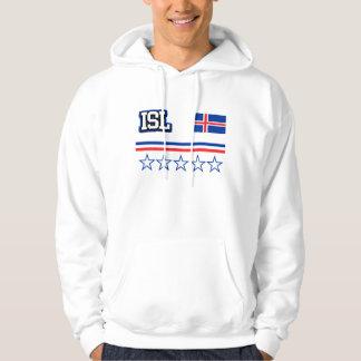 Moletom Bandeira de Islândia