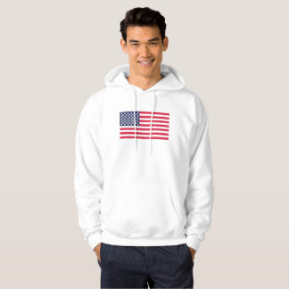 Moletom bandeira Estados Unidos u do símbolo do dólar do