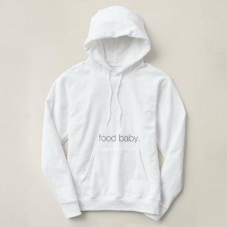 Moletom bebê da comida. Hoodie