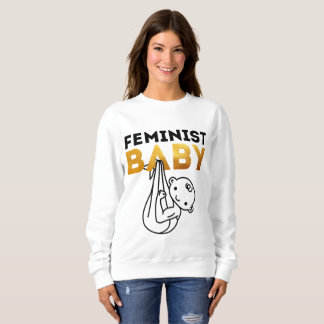 Moletom Bebê feminista