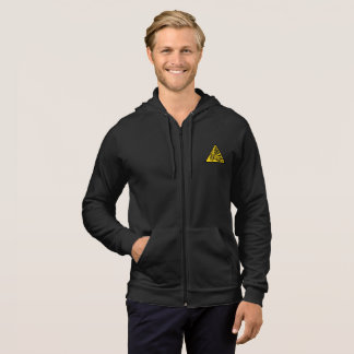 Moletom Bitcoin - Hoodie do fecho de correr do velo de