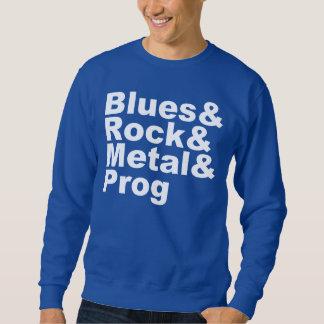 Moletom Blues&Rock&Metal&Prog (branco)
