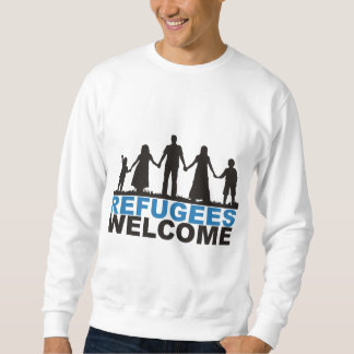 Moletom Boa vinda dos refugiados