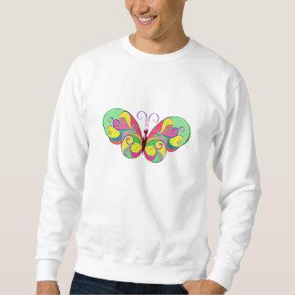 Moletom borboleta elegante