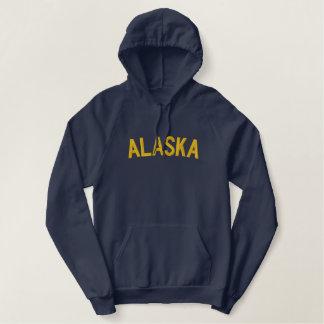 Moletom Bordado Com Capuz Alaska bordou a camisa