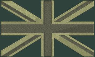 3e74d18262 Moletom Bordado Com Capuz Bordado dos ganhos de Inglaterra da bandeira de