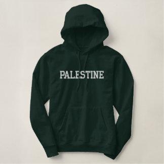 Moletom Bordado Com Capuz Hoodie bordado de Palestina