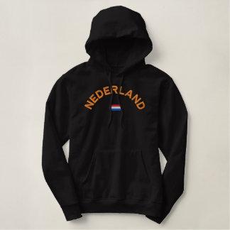Moletom Bordado Com Capuz Hoodie de Nederland - Hup Holland Hup!