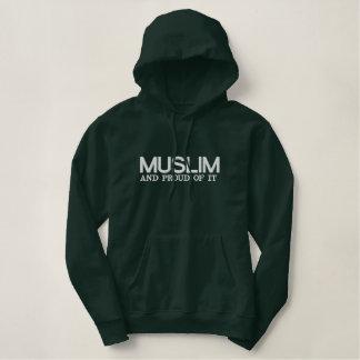 Moletom Bordado Com Capuz Muçulmanos