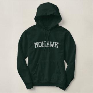 Moletom Bordado Com Capuz Tribo do indiano do Mohawk
