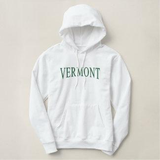 Moletom Bordado Com Capuz Vermont bordou o Hoodie