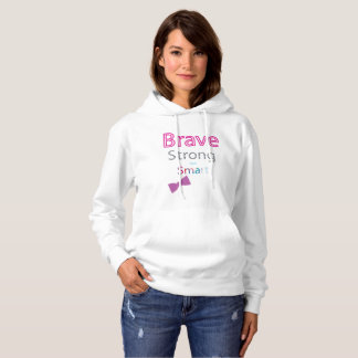 Moletom Brave, Smart, e Hoodie forte