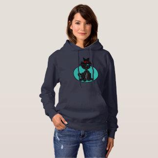 Moletom Bruxa do gato preto