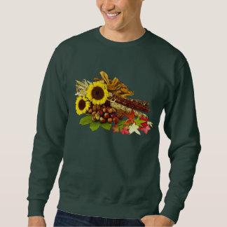 Moletom Buquê do girassol e do milho do outono