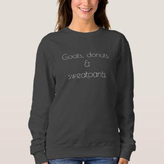 Moletom Cabras, rosquinhas & camisola dos sweatpants