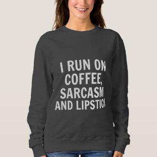 Moletom Café & camisola do sarcasmo